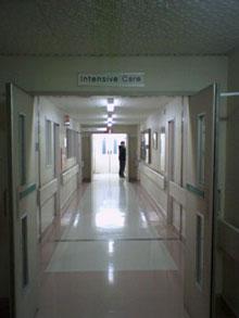 Liz In Hospital